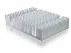 Aluminum extrusion +CNC processing heat sink